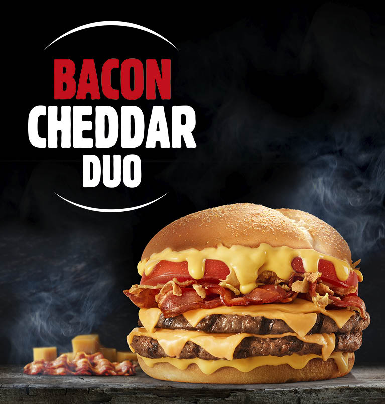 BACON CHEDDAR DUO