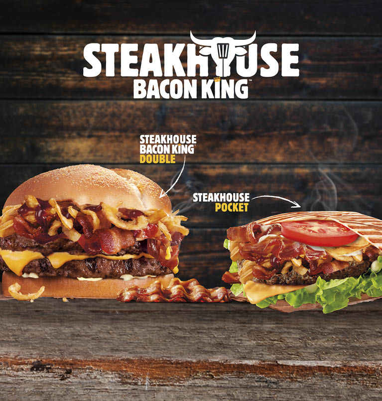 Steakhouse Bacon King