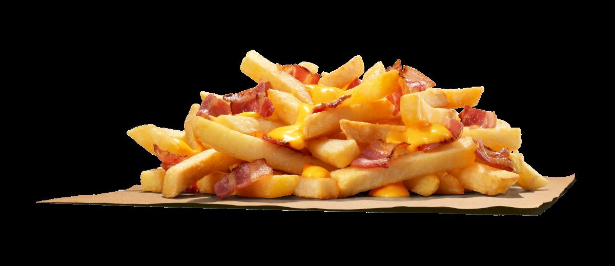 King Fries slanina & syr