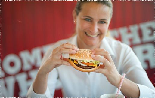 VYCHUTNAJTE SI SVOJ WHOPPER®: najpopulárnejší burger od roku 1957.
