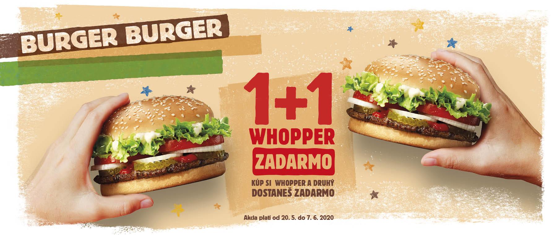 WHOPPER 1 + 1