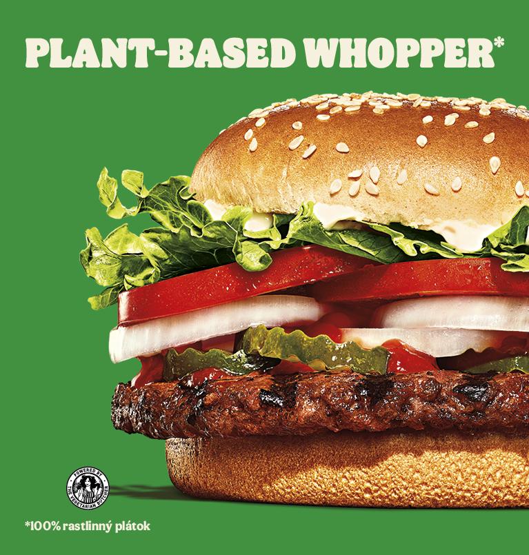 Plant-based WHOPPER