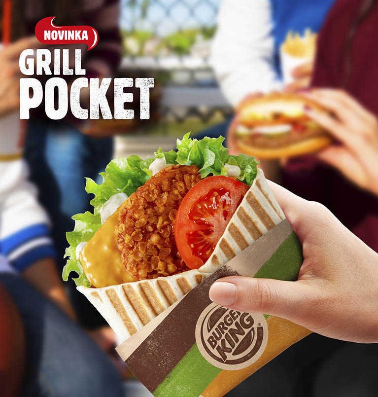 Novinka Grill Pocket